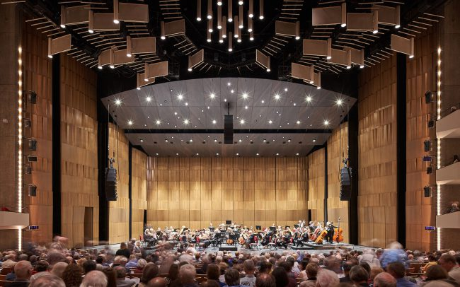 National Arts Centre Concert Hall Full
