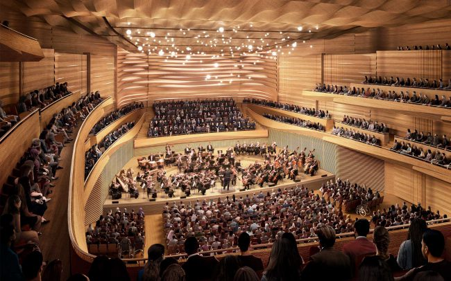 David Geffen Hall, Lincoln Center for the Performing Arts, New York City