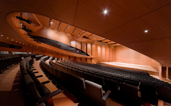 Alice Tully Hall, Lincoln Center for the Performing Arts, New York