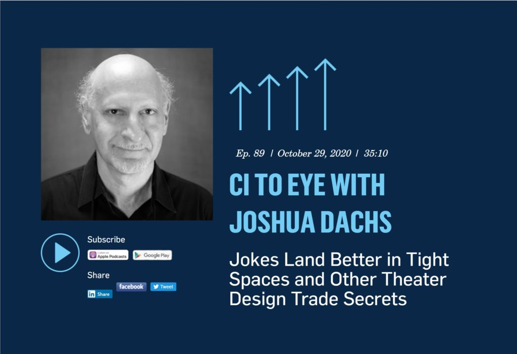 Picture: Joshua Dachs on the CI To Eye Podcast