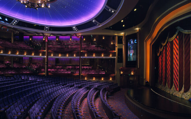 Royal Caribbean Cruise Lines, Voyager of the Seas : La Scala Theatre